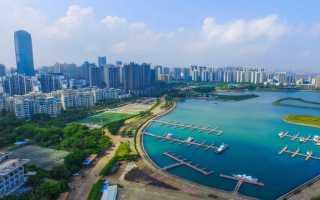 20 крупнейших городов острова Хайнань