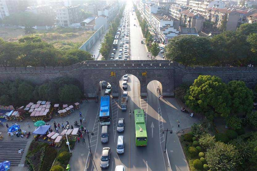 Город Цзинчжоу в Хубэй