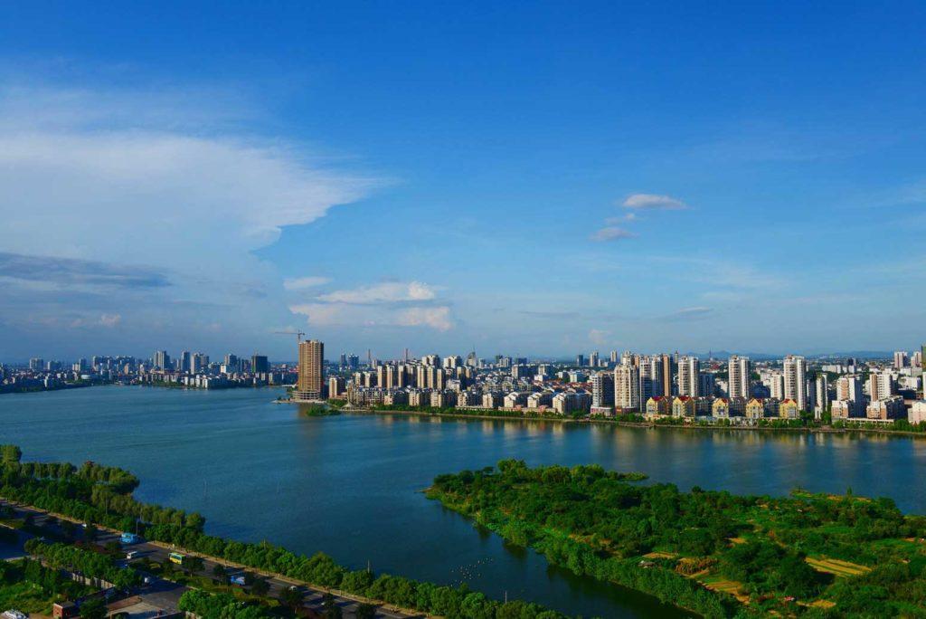 Город Эчжоу в Хубэй