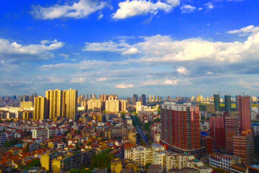 Город Хуанган в Хубэй