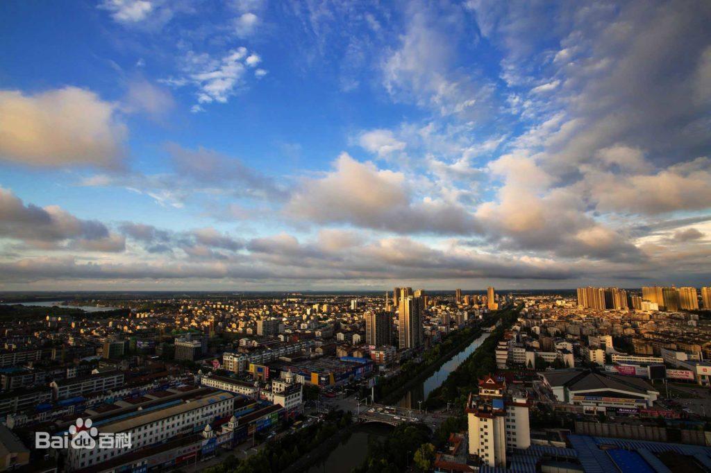 Город Сяньтао в Хубэй