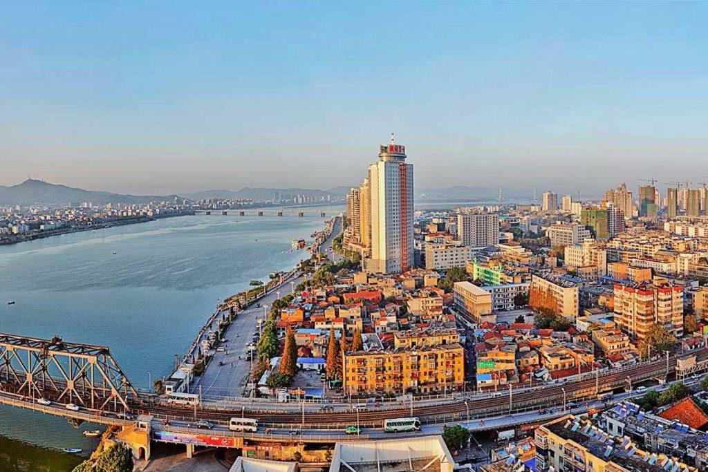 Город Сянян в Хубэй