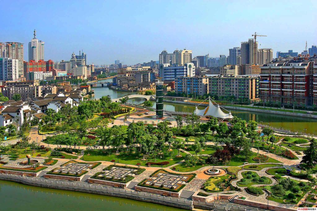 Город Цзинмэнь в Хубэй