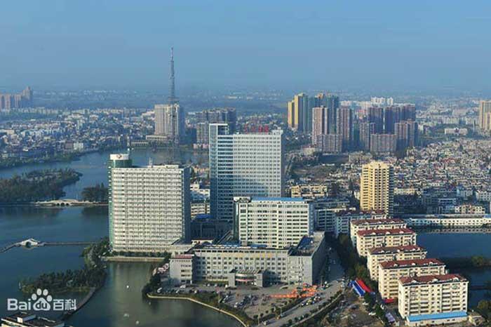 Город Тяньмэнь в Хубэй