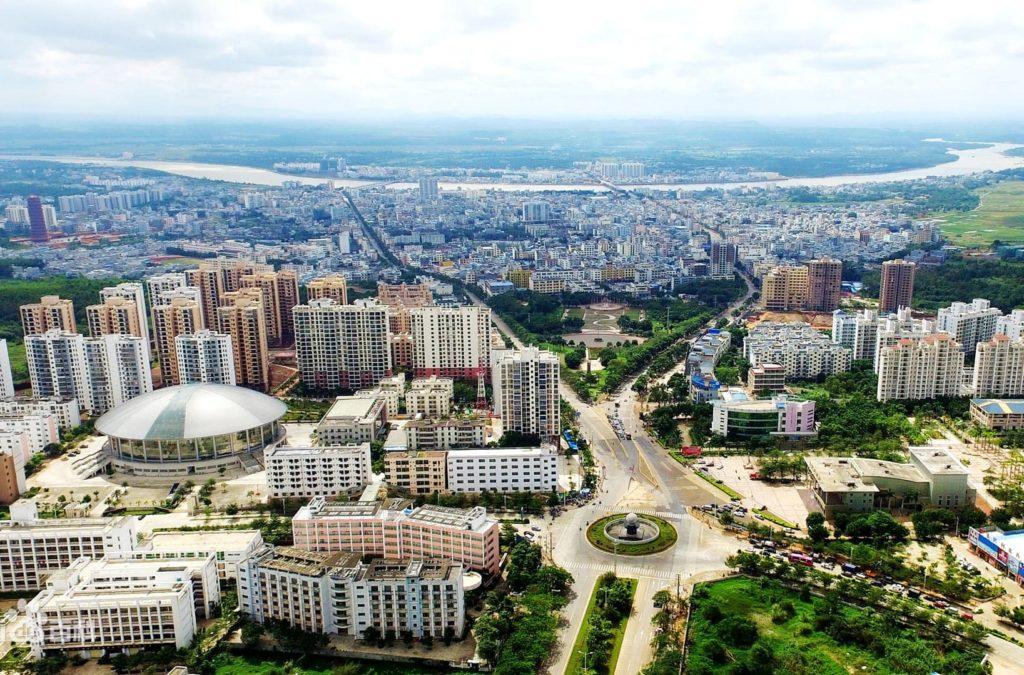 городок Цзиньцзян уезд Чэнмай